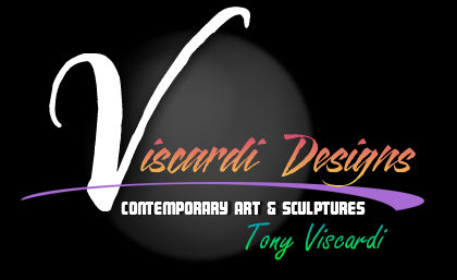 Viscardi Designs art by Tony Viscardi including brushed aluminum sculptures and public art