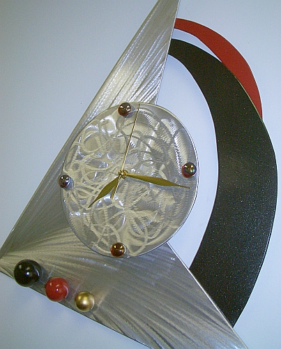 retro clocks and 70's style clock