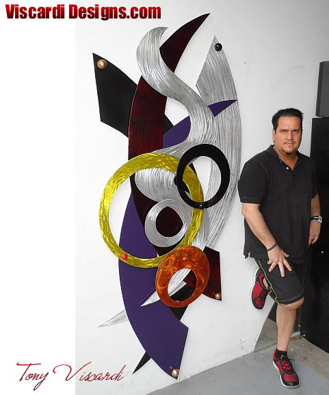 contemporary wall art, modern wall art, large metal wall sculpture, Wall Sculpture, wall art, large wall art, viscardi designs, tony viscardi, contemporary wall art, contemporary art, modern art